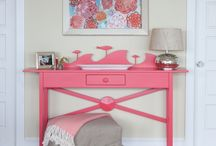 Entryways / Decor and storage ideas for small, open or narrow hallways and entrways.  Hamptons, beach styling.