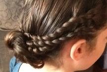 Hair dos thanks to Pinterest