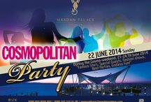 "Cosmopolitan Party / During the Cosmo-weekend, 21-24th June 2014 ""Famous Stars, special guests, fashion shows, best parties, endless fun!"""