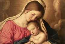 Mary and Madonna with holy baby / Maria e Madonna con Gesù