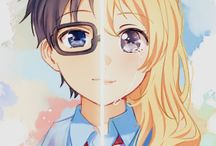 shigatsu wa kimi no uso / una gran historia .... llore mucho .... :,(
