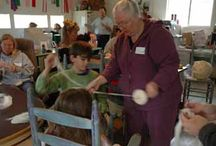 Fiber Arts & Classes / Learn about everything that can be created with natural fiber.