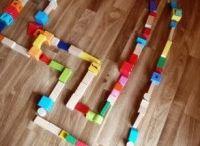 Block and Lego fun