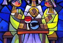 Childrens Religious Art Ideas- Hi Qi