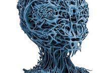 3D Printed Art / 3D printed art that we appreciate. For all your 3D printing needs visit www.matterhackers.com