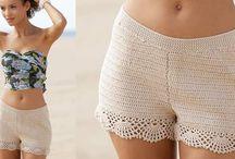Short au coton