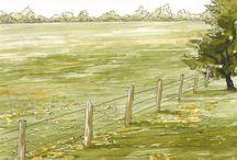 Farmhouse Art and Watercolours