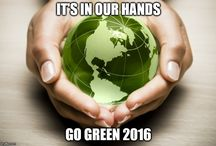 .GO GREEN