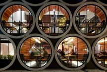 Concrete Pipe Uses  / Showcasing the array of different practical and creative uses of concrete pipes across the world