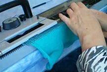 всё о машинном вязанье / уроки