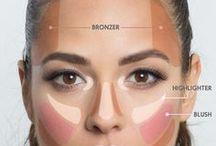 stínování make-up