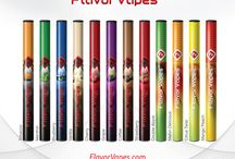 Flavor Vapes / Favored for their convenience, easy use and outstanding flavor, Flavor Vapes is the leader in disposable electronic cigarettes. Choose from 12 signature flavors that mimic the taste and full-bodied smoke of a traditional cigarette without the tar, ash or tobacco. No need to charge this product, simply open and enjoy 500 vapes of quality satisfaction.