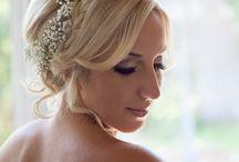 Wedding Hair / Bride and Bridesmaids