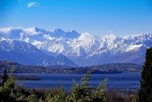 Scenic Views of Lago Maggiore / Lago Maggiore is the second largest Lake in Italy. Peculiar for its wild nature, stunning wiews and proximity to the Italian-Swiss Alps. The Monte Rosa is ... everywhere!