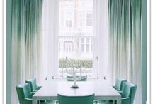 Magical Greens / Adding green to your decor brings freshness and a taste of the outside in...