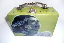Cigar box purses / by Vintage Vixen