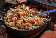 Cooking with cast iron or Dutch oven