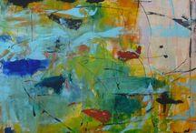"""Exhibition """"CHRISTEL HAAG"""" / """"A mancha e o traço não são resultados do acaso nos trabalhos da artista alemã Christel Haag. Muitas vezes a cor é fragmentada até desaparecer, o pincel liberta-se e incorpora impensáveis perspectivas. O ritmo é intenso, flui com naturalidade, a espessura da pincelada e a intensidade da cor geram energia e frequência. Formas abertas deixam-se abraçar, repetem-se, aglomeram-se e dispersam-se."""" José Roberto Moreira - Curador e Galerista. Christel Haag vive e trabalha na Alemanha."""