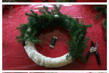 Christmas wreaths diy