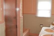 My 70s Bathroom / Ideas for my 70s inspired with a modern twist bathroom