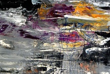 Abstract Expressionsim / Painterly abstract art / abstract expressionsim
