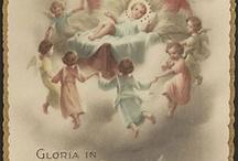 Karácsonyi vintage képeslapok Európa országaiból