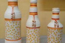 garrafas e reciclagem