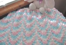 Crochet ~ Blankets and Squares / by Melissa D