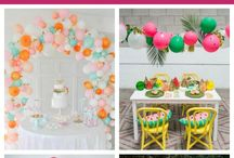 Baloon garlands