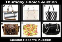 Thursdays Are All Ways Chic August 14,2014 / Designer Choice Reserve Auction OneCentChic.com at 10 PM tonight