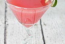 Coloured cocktails:)