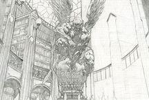 +ComicArtMaster+-David Finch- / by Bo Lu