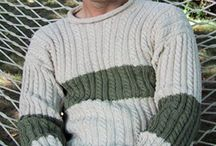 knitting for men / by Kimberly Napier