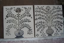 home decor product / my company made all type of thikri glass home decor product..