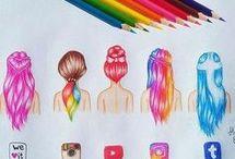Farebné maľby