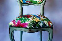 Muebles Kitsch Madrid / Trabajos de transformación de muebles Vintage con alma Kitsch.