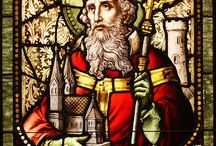 Saints In Stained Glass / This is a collection of saints represented in stained glass.