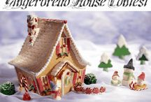 I love gingerbread houses / by Cindy Atkin