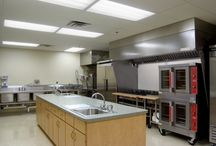 commercial kitchens / by Terri Burke