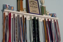 Marathon Medals Display Ideas