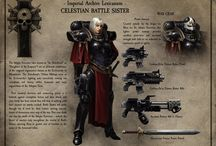 Adepta Sororitas / Board dedicated to the Warhammer 40k Adepta Sororitas.