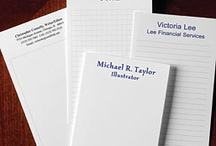 Stationery & Accessories / Searching for note cards or card holders to add to your organizational style? Look no further! Our customized note cards and note pads come in an array of styles and can be customized with your personal type set and color. / by Levenger