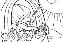 coloring pages 28 (rainbow brite)