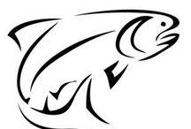 trout tattoo ideas