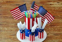 July 4th crafts & recipes / Get patriotic this 4th of July with all kinds of tasty foods, America-themed crafts, cookout recipes, and so much more!