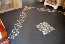 Malba na podlahu