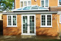 Orangeries / Orangeries are the new conservatory, they were first grand affairs built for stately homes to house exotic plants. Now they are the must have new conservatory style with their lantern style glass roofs they can be added to any home creating classic appeal and style, the real wow factor.