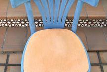 pintura sillas