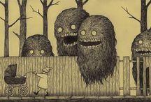 Рисунки с призраками