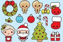 Christmas kawaii